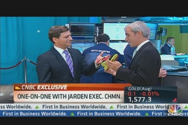 Jarden Chairman on Earnings Beat