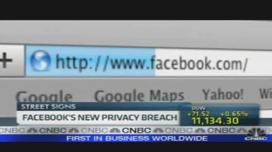 Facebook's Latest Privacy Breach