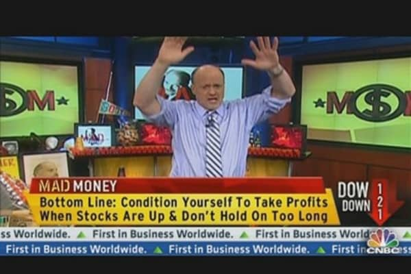 Cramer's 'Exit Strategy' For Your Investments