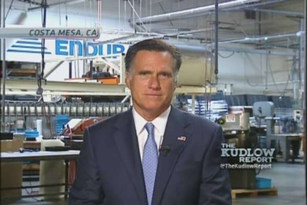 Gov. Romney: Aurora Shooting, Taxes, & Bain Capital