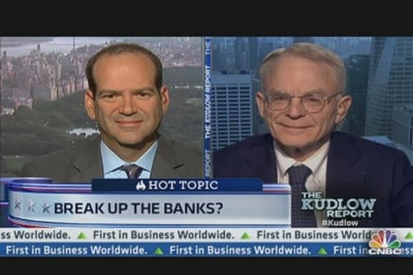 Former Citi CEO: Break Up the Banks!