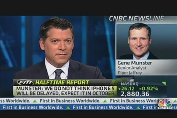 Munster: We Don't Think iPhone 5 Will Be Delayed