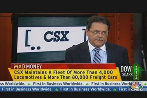 CSX Corp. CEO: Expecting $180 Million in Productivity