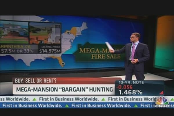Mega-Mansion 'Bargain' Hunting