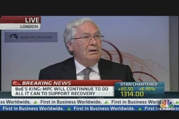 BoE Lowers Growth Forecast