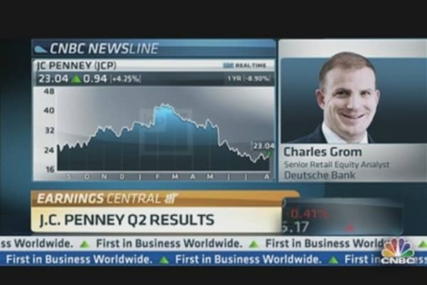 JC Penney's Q2 Results