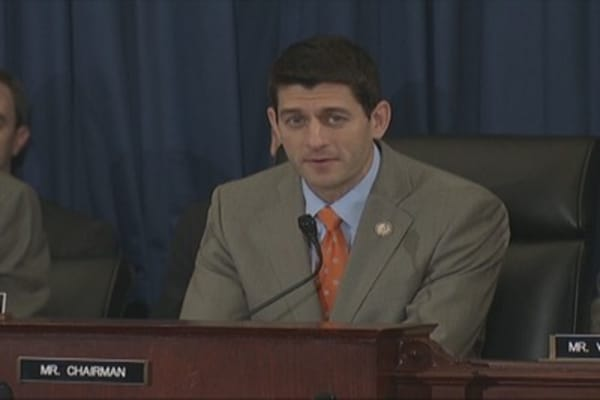 Rep. Paul Ryan Grills Bernanke on Unemployment