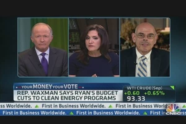 Rep. Waxman: Ryan's Budget Cuts to Clean Energy Programs
