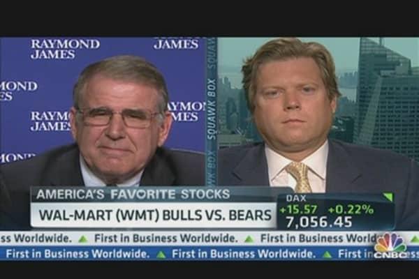 Wal-Mart Q2 EPS $1.18 vs. $1.17 Est.