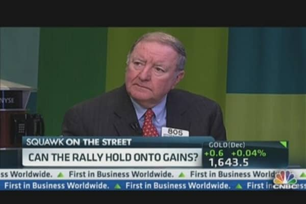 Cashin's Warning Sign! Rally Could Reverse