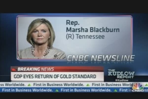 GOP Eyes Return of Gold Standard