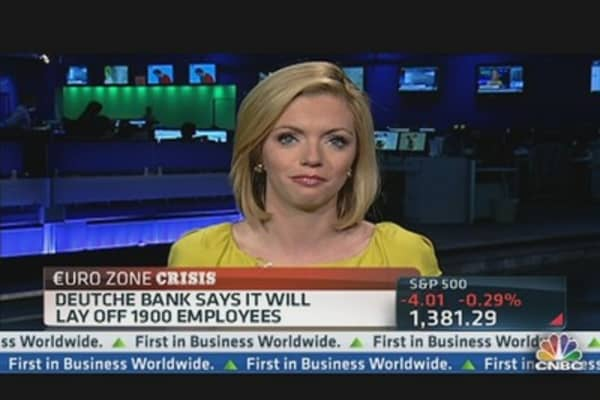 Deutsche Bank: Feeling the Pain