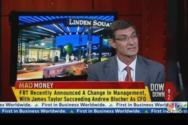 Federal Realty CEO on New Properties, Dividends & CFO Change