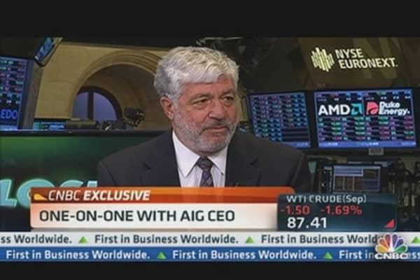 AIG CEO: When Time Comes, We'll Be Ready to Buy Back Shares