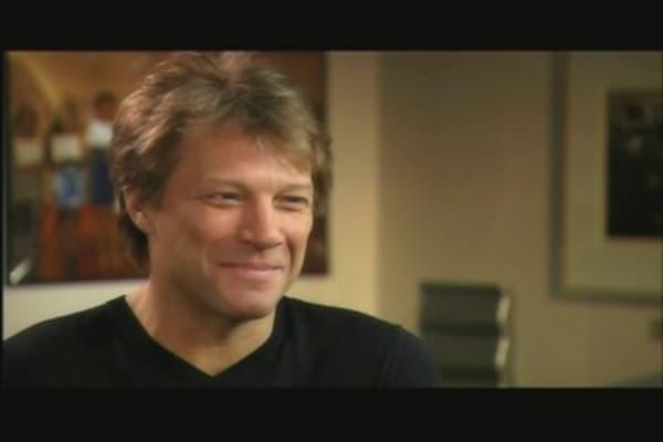 CNBC Meets Jon Bon Jovi