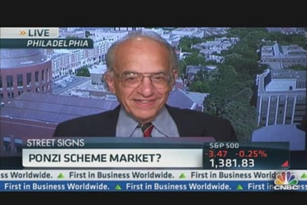 Ponzi Scheme Market?