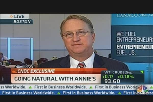 Annie's CEO on Drought & Food Prices