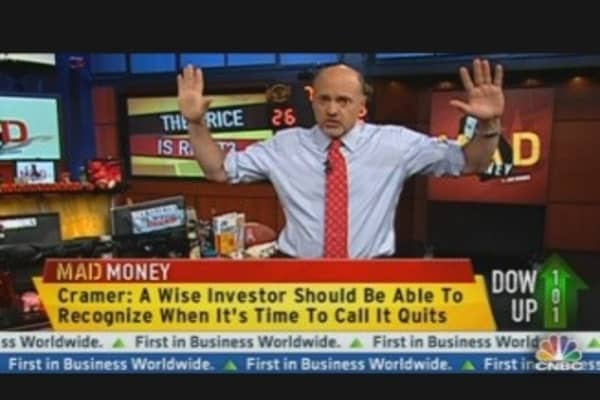 'Pyramid Style' Buying With Cramer