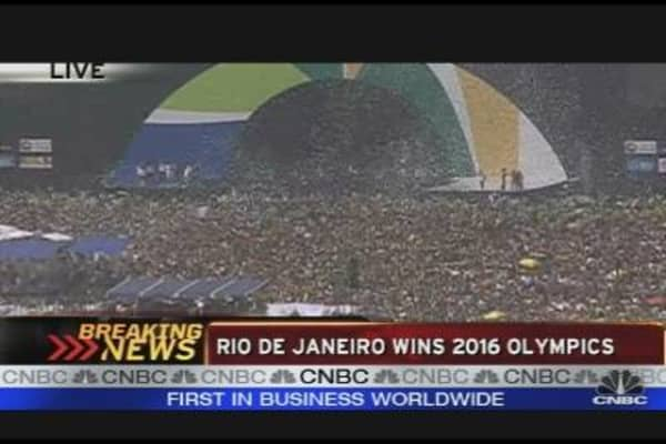 Rio de Janeiro Wins 2016 Bid