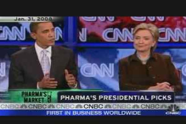 Pharma's Presidential Picks