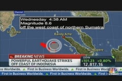 Aftershock Strikes Indonesia