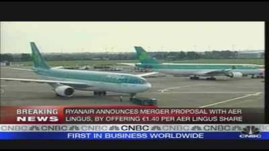Ryanair Bids for Aer Lingus