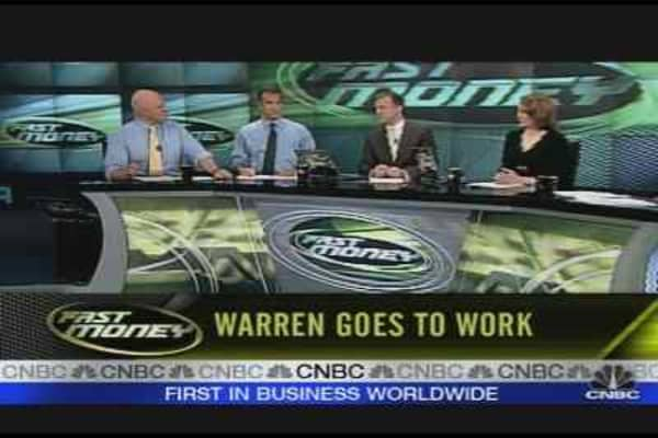 Warren Goes To Work