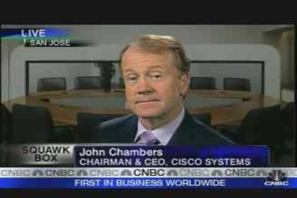 Cisco Reports 37% Rise in Q1