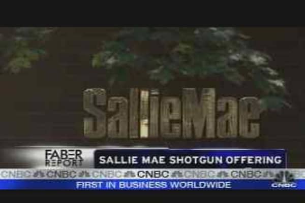 Sallie Mae's Offering