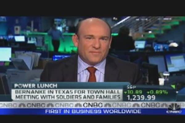 Bernanke Speaks to Texas Military Families
