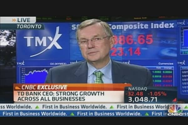 TD Boosting Dividend on Strong Earnings