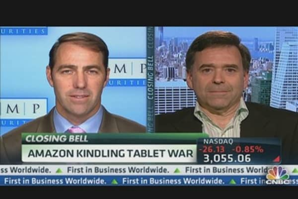 Amazon Kindling Tablet War