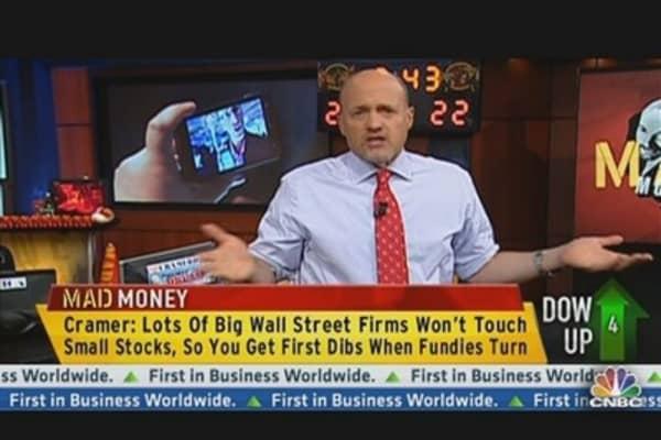 Cramer: High Risk, High Reward Spec Stocks Are Interesting