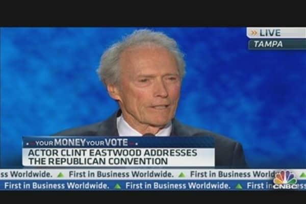 Clint Eastwood: Unemployment a 'National Disgrace'