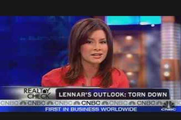 Lennar's Outlook: Torn Down