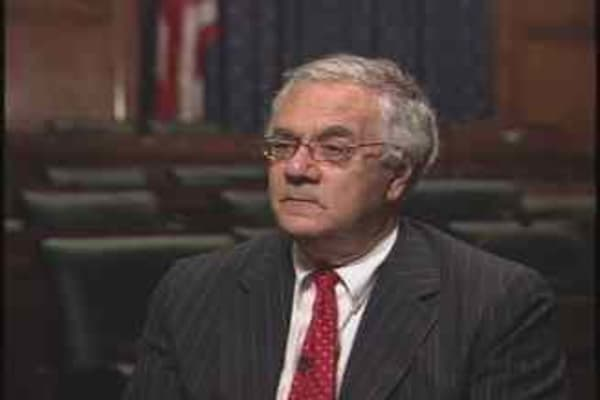 Barney Frank Interview, Pt. 1