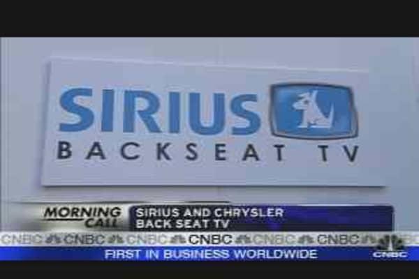 Sirius TV?