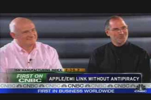 Apple/EMI Announcement