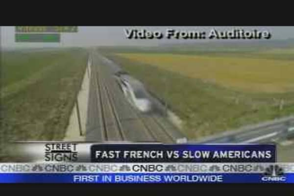 Fast French Train