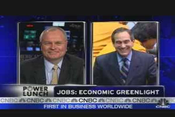Jobs: Economic Greenlight