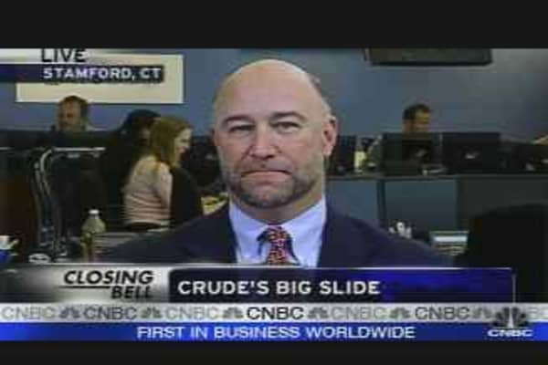 Crude's Big Slide