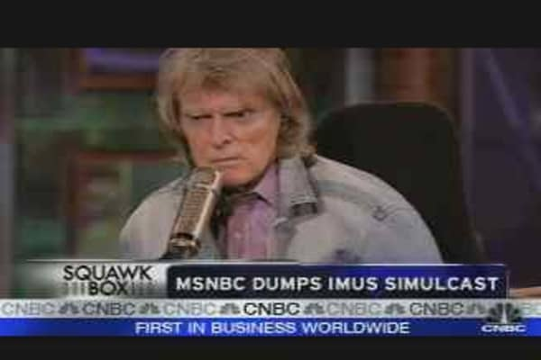 Imus Is Out