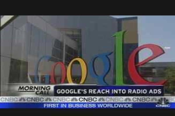 Google's Radio Ad Deal