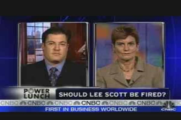 Should Lee Scott be Fired?