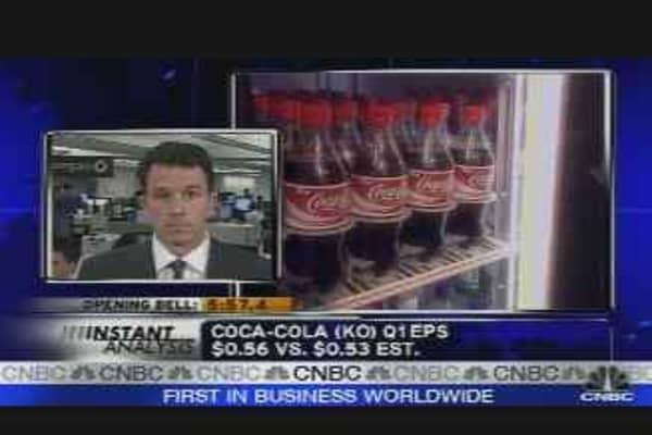 Coca-Cola Q1 Results