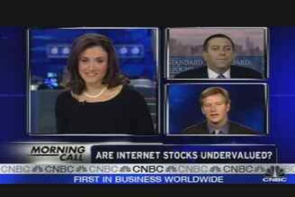 Undervalued Internet Companies?