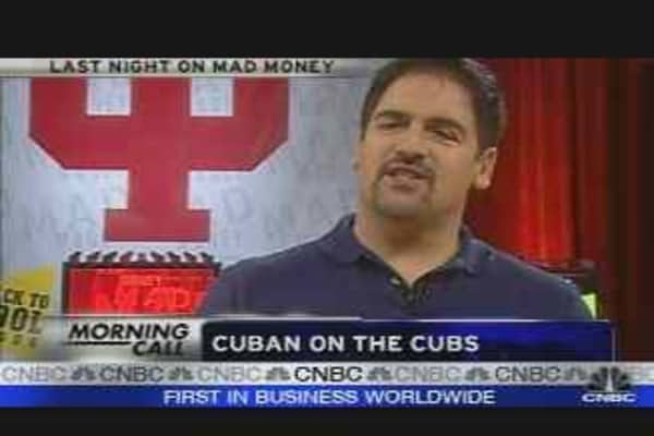 Cuban on the Cubs