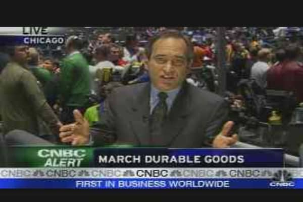 March Durable Goods Up 3.4%