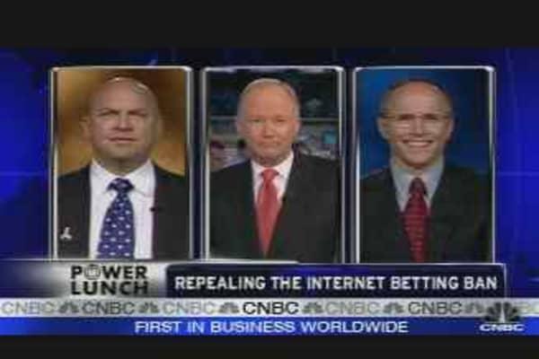 Internet Gambling Debate