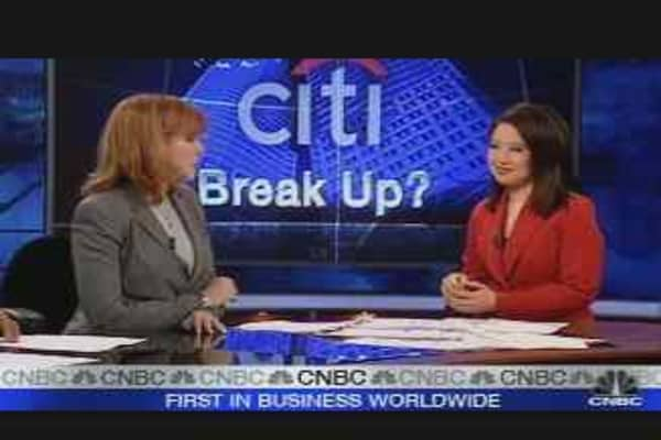 Citi Break-Up?